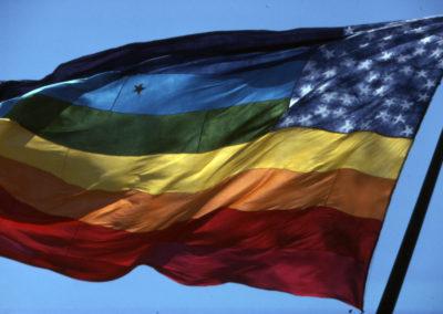 1978 Original Rainbow Flag Barton