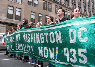 2009 DC Green Equality Rights Banner