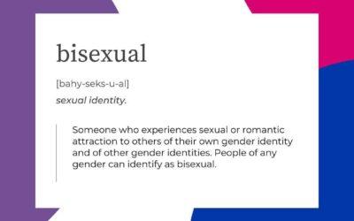 Celebrating Bisexuality Awareness Week